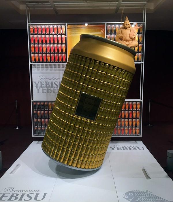 大きなビール缶