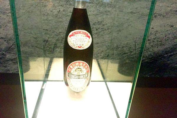 エビスビールの瓶