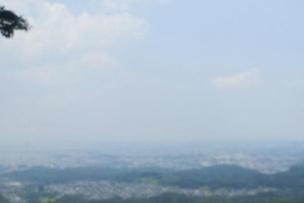 8合目からの眺め