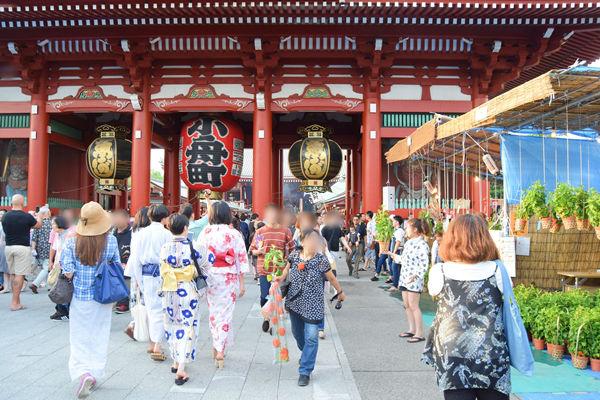 浅草寺の門