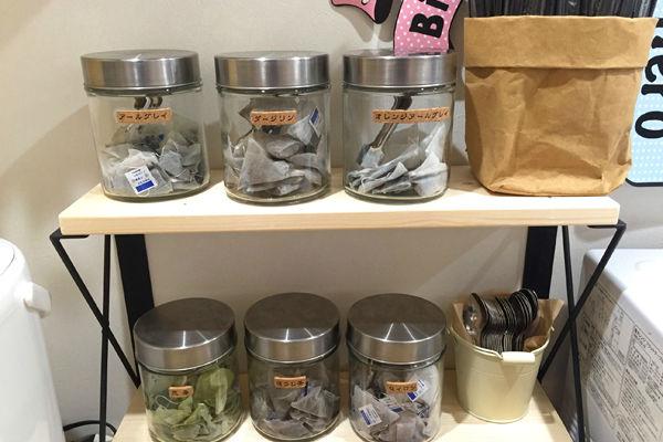 紅茶や緑茶