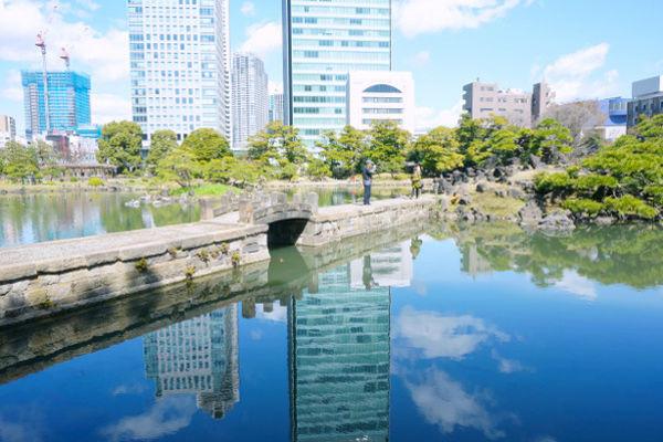 中島への石橋