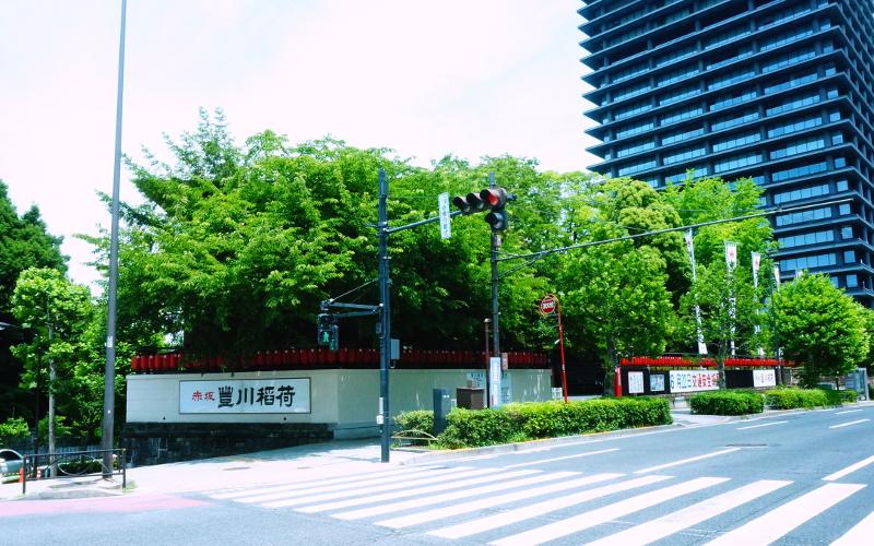 豊川稲荷東京別院外観